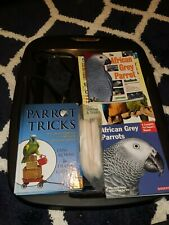 Timneh African Grey Flight Suit (Diaper) and Books