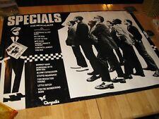 The Specials, Large Original Promo Poster for 1st Album, Elvis Costello, 1979