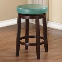Swivel Counter Stool Plush Padded Seat Kitchen Bar Pub Chair Modern Furniture