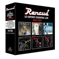 RENAUD - LE COFFRET ESSENTIEL LIVE 1986-2007 10 CD NEU