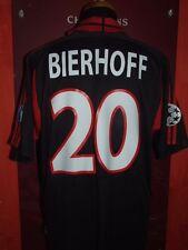 BIERHOFF MILAN 2000/2001 MAGLIA SHIRT CALCIO FOOTBALL MAILLOT JERSEY SOCCER