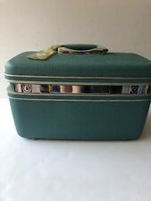 Vintage Samsonite Silhouette Cosmetic Carry On  Case Circa 1970