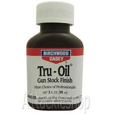 Birchwood Casey Tru Oil Stock Finish 3oz Liquid for Shotgun/Rifle/Air Gun