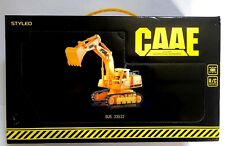 CAAE SUS# 33532 RC Remote Control King Excavator Tractor Scale 1:28 Yellow - New