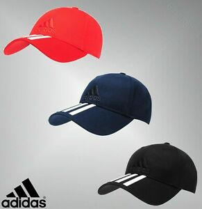 Boys Girls Adidas Curved Peak Performance 3s Cap Headwear