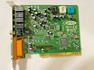 VINTAGE AZTECH PCI1288 TRIDENT4DW PCI SOUND CARD - THE ONLY USA SELLER ON eBAY!
