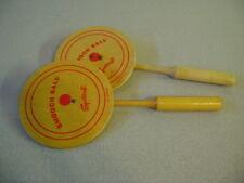 SportCraft SMOOCH BALL Racket Sport 2 Paddles RARE AS FOUND VINTAGE