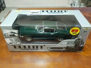 American Muscle 1968 Ford Mustang BULLITT 1:18 Scale