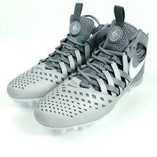 NIKE Huarache V5 LAX Lacrosse Football Cleats Mens Sz 13.5 Shoes Gray 807142 010