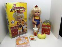 Hasbro McDonaldLand McDonald's Happy Meal Girl Doll In Box With Accessories 1997