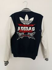 Adidas Rare Retro Bomber Jacket Varsity Jacket Superstar Mens Small