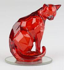 Reflections of the Red Diamond Cat Rarest Gem Felines