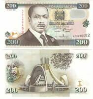 UNC Kenya 200 Shillings (1998) P-38c