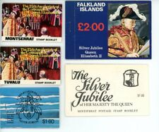 Qe Ii Silver Anniversary 1978 stamp booklets (5) from various countries Mnh