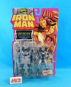 War Machine Figure Iron Man Marvel Action Hour 1994 ToyBiz New on Card