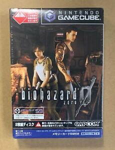 Biohazard 0 Nintendo Gamecube Japan New! Sealed Capcom