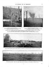 WWI Bataille la Malmaison Feldgrauen Mont-des-Singes Deutsches Heer ILLUSTRATION