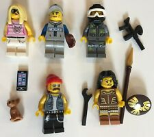 LEGO 71001 Minifigures Series 10 WARRIOR WOMAN w// Spear Shield COMPLETE /& OOP