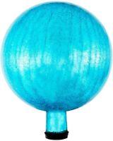 Achla Designs Gazing, Teal 10 inch Glass Garden Globe Ball Sphere, 10 New