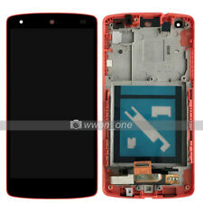 Red LG Google Nexus 5 D820 D821 LCD Display Touch Digitizer Assembly W/Frame