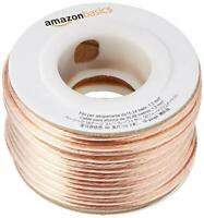 50 Ft, t16-Gauge Audio Stereo Speaker Wire Cable - 50 Feet