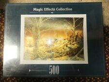 Magic Effects Collection 500 Puzzle Night on the Town by Terry Redlin NEW