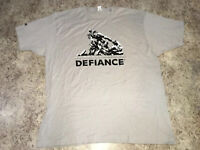 SYFY Vintage Promo Shirt Defiance XL RARE E3 EXCLUSIVE Industry Event Promotion