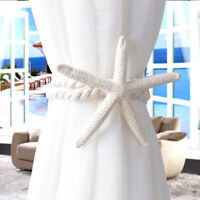 Practical Natural Finger Starfish  Window Strap Buckle Holder Curtain Tieback