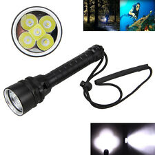 Diving 15000Lm 5x XML T6 LED Taschenlampe Tauchlampe 18650 Handlampe bis 100m
