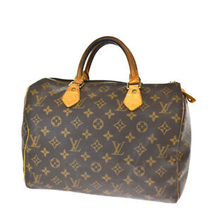 Auth LOUIS VUITTON Speedy 30 Travel Hand Bag Monogram Leather BN M41526 64BS578