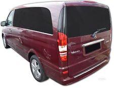 Protección de Bordes Carga Mercedes Vito Viano W639 Acero Inox. Dobla 2004-2013