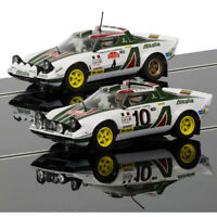 SCALEXTRIC Slot Car C3894A Lancia Stratos 1976 Rally Champions Twinpack - Ltd Ed