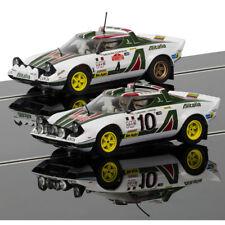 SCALEXTRIC Slot Car C3894A Lancia Stratos 1976 Rally Champions Twinpack - Ltd Ed