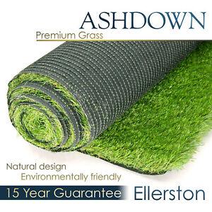 Ashdown Ellerston Premium Artificial Grass Realistic Astro Garden Turf Fake Lawn
