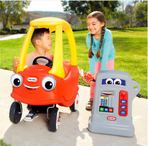 Little Tikes Cozy Coupe Pumper Pretend Petrol Fuel Pump For Car Outdoor Toy Play