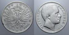 2 LIRE 1905 AQUILA SABAUDA VITT. EMANUELE III