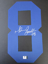 Marshall Faulk Signed Jersey Number #8 - Global Authentics