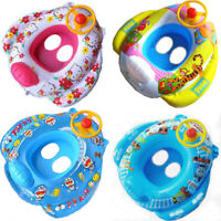 Baby Kid Toddler Swimming Pool Boat Ring Raft Float Tube Seat Safety Aid Trainer