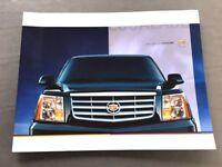 2005 Cadillac Escalade 34-page Canada Car Sales Brochure Catalog - ESV EXT