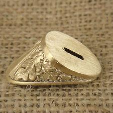 #20 Finger Guard made from Bronze CUSTOM KNIFE HAND MAKING METAL 440060bolster