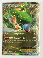 Rayquaza EX ULTRA RARE 60/108 XY Roaring Skies Pokemon Card HOLO NM