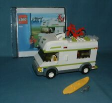 CITY, CAMPER SET (7639) - LEGO - 2009 - USED W/ INSTRUCTIONS