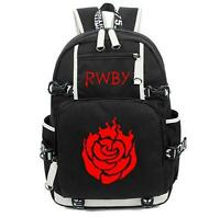 RWBY Ruby rose Backpack Schoolbag Computer Satchel Bag