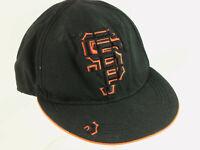 New Era San Francisco Giants Hat Cap Size 8 Black Orange