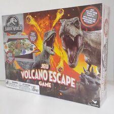 Jurassic Park World VOLCANO ESCAPE 3D Board Game Ages 5+ T-Rex+Velociraptor++