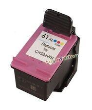 1 Color Ink Cartridge for HP 61XL Deskjet 3000 Series