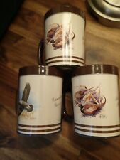 New listing Vintage Thermo-Serv Type Cup Mug Ring Necked Pheasant Canadian Goose 1980's