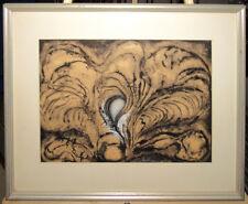 Garabed Hohannesian '60s Abstract Extpressionist Ptg Listed Boston & RISD Artist