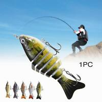 Minnow Fishing Lures Crank Bait Hooks Bass Crankbaits Tackle Sinking Popper MT