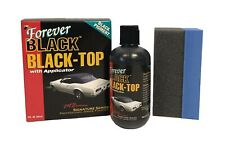 Forever Car Care Products Black Top Gel Foam Applicator Waxing Polishing 8 Oz